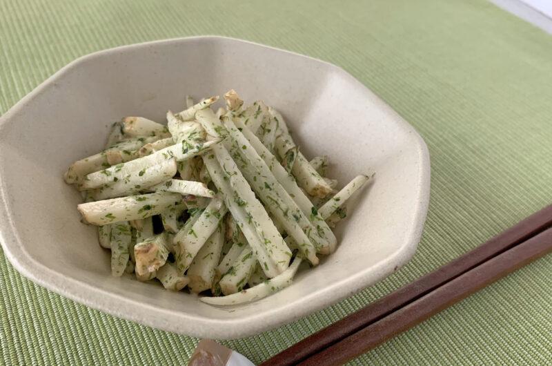 菊芋の青のりサラダ