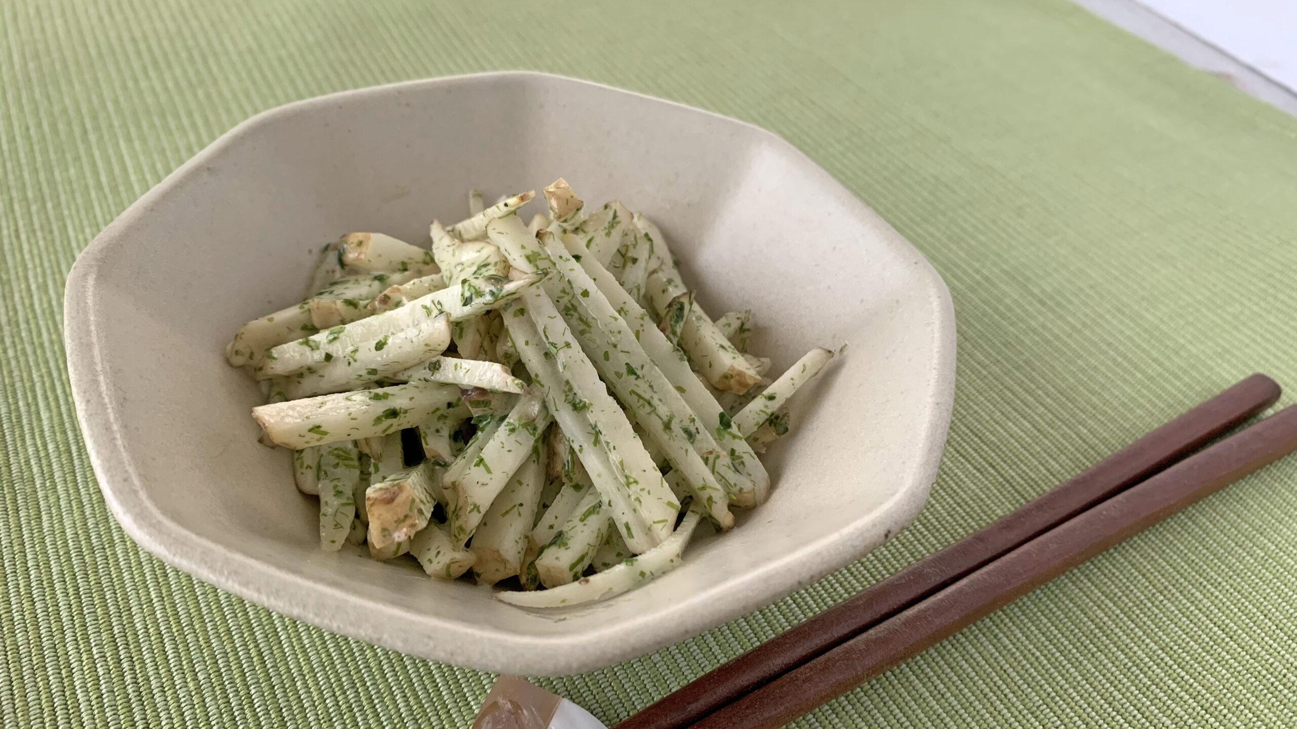 菊芋サラダ